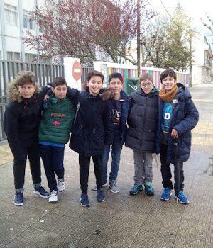 Chegada em Ribeira – Galiza