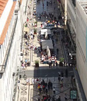 Passeio pela baixa de Lisboa