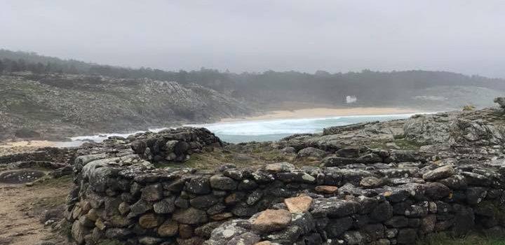 Castros na costa Galega