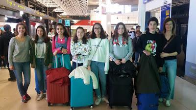 De partida para Florença [aeroporto]