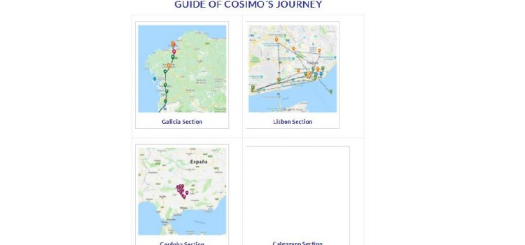 GUIDE OF COSIMO´S JOURNEY