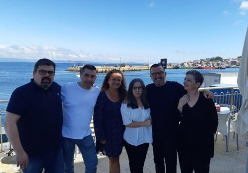 Special thanks to the Departments of English and Galician, for their help in the correction of texts. Also thanks to Marga González for the design of the exchange program in Ribeira, and to Olegario Sampedro for the work of Dissemination of the project